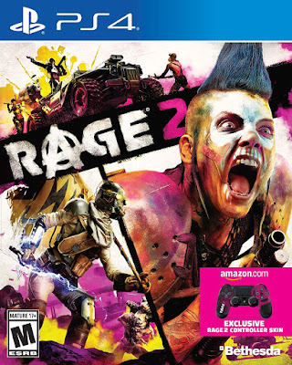 Rage 2 Game Cover Ps4 Standard Edition