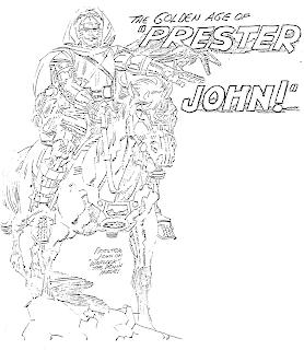 Cap'n's Comics: Prester John by Jack Kirby