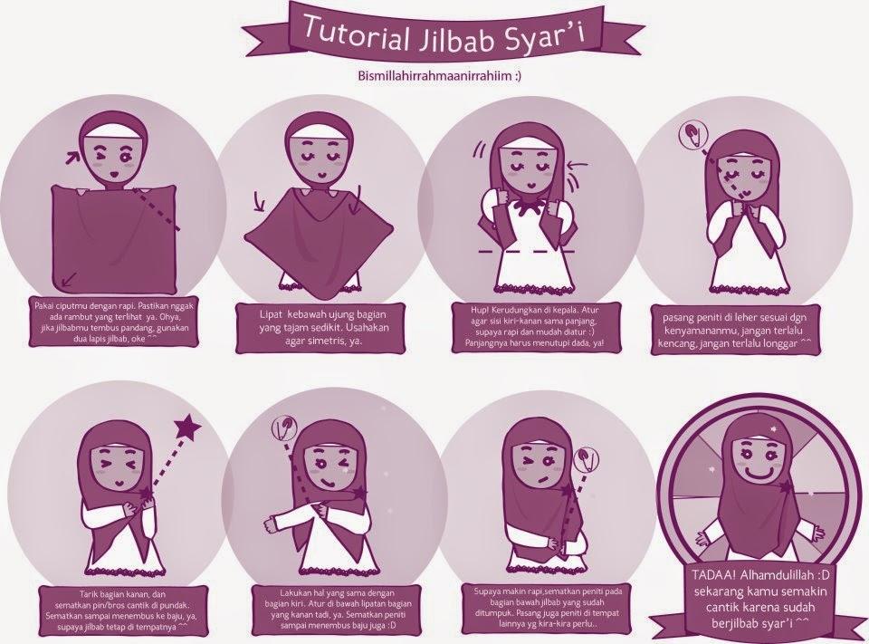 Hijab Syari Cartoon