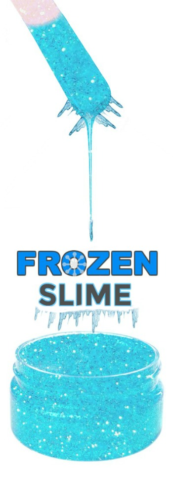 "FROZEN SLIME:  slime that melts in kids hands as they play!  SO ""COOL""! #slimerecipes #slimeforkids #frozenslime"