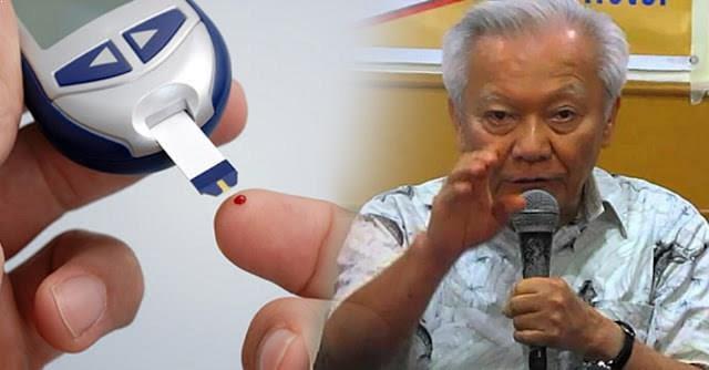 DOCTOR FILIPINO ENCONTRADO UNA CURA PARA LA DIABETES EN SÓLO 5 MINUTOS
