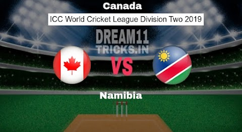 CAN vs NAM Dream11 Prediction WCL Division Two Preview, Team News, Playing11