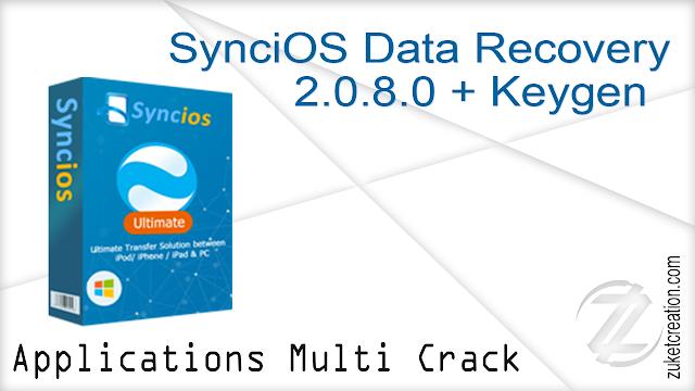 SynciOS Data Recovery 2.0.8.0 + Keygen