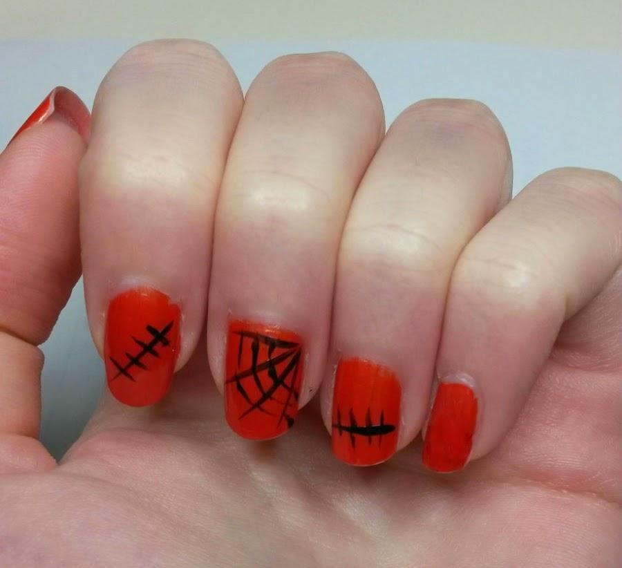 Tuto Nail Art : Halloween (facile)