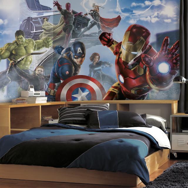 Valokuvatapetti Lapsia Avengers Tapetti Marvel