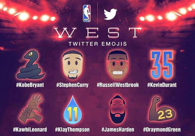 LA NBA et Twitter ont dévoilé les emoticones spéciaux créés pour le All Star Game 2016