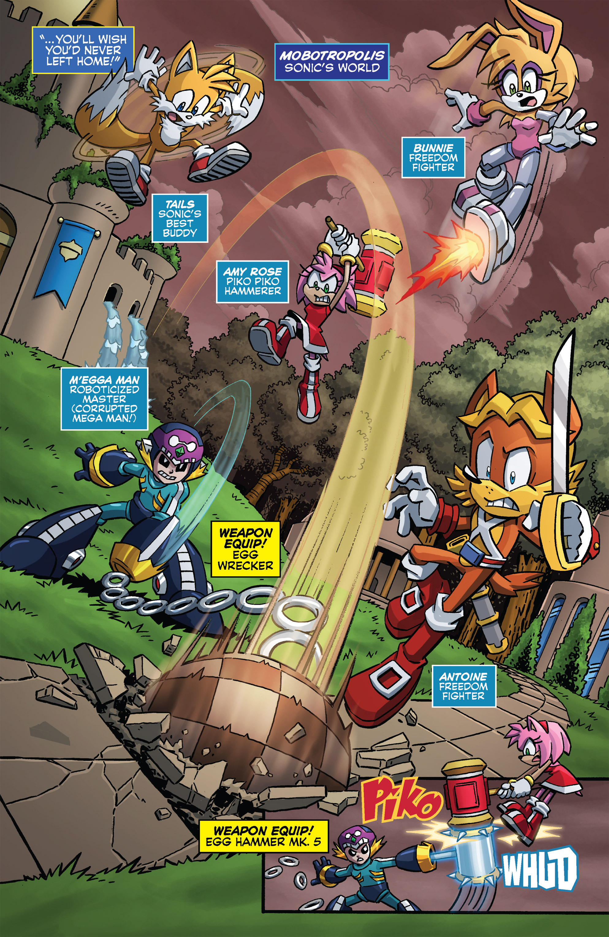 Read online Sonic The Hedgehog comic -  Issue #273 - 7