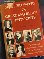 Selected Papers of Great American Physicists superimposed on Intermediate Physics for Medicine and Biology.