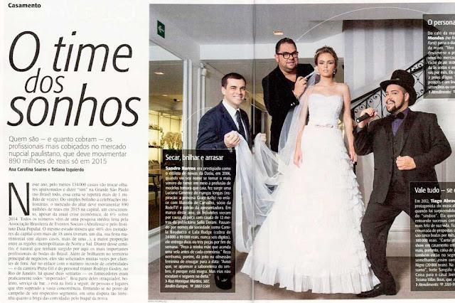 Revista Veja SP Queridinhos dos casamentos