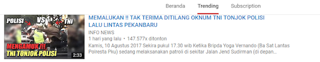 Trending YouTube Mencerminkan Selera Tontonan Masyarakat Indonesia5