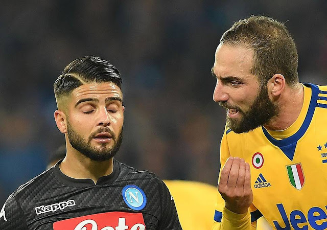 Prediksi Juventus vs Napoli, 22 April 2018