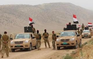 القوات المسلحة العراقية و الحشد الشعبي تنتظر أوامر العبادي لبدء العملية البرية لتحرير تلعفر  غرب الموصل