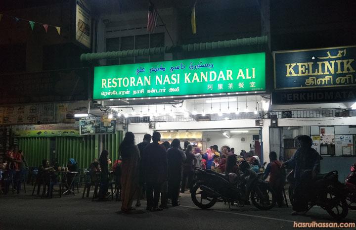 Restoran Nasi Kandar Ali, Restoran Nasi Kandar Paling Popular di Parit Buntar