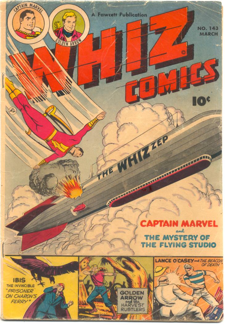 WHIZ Comics 143 Page 1