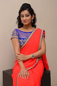 tejaswini sizzling photos in saree-thumbnail-14