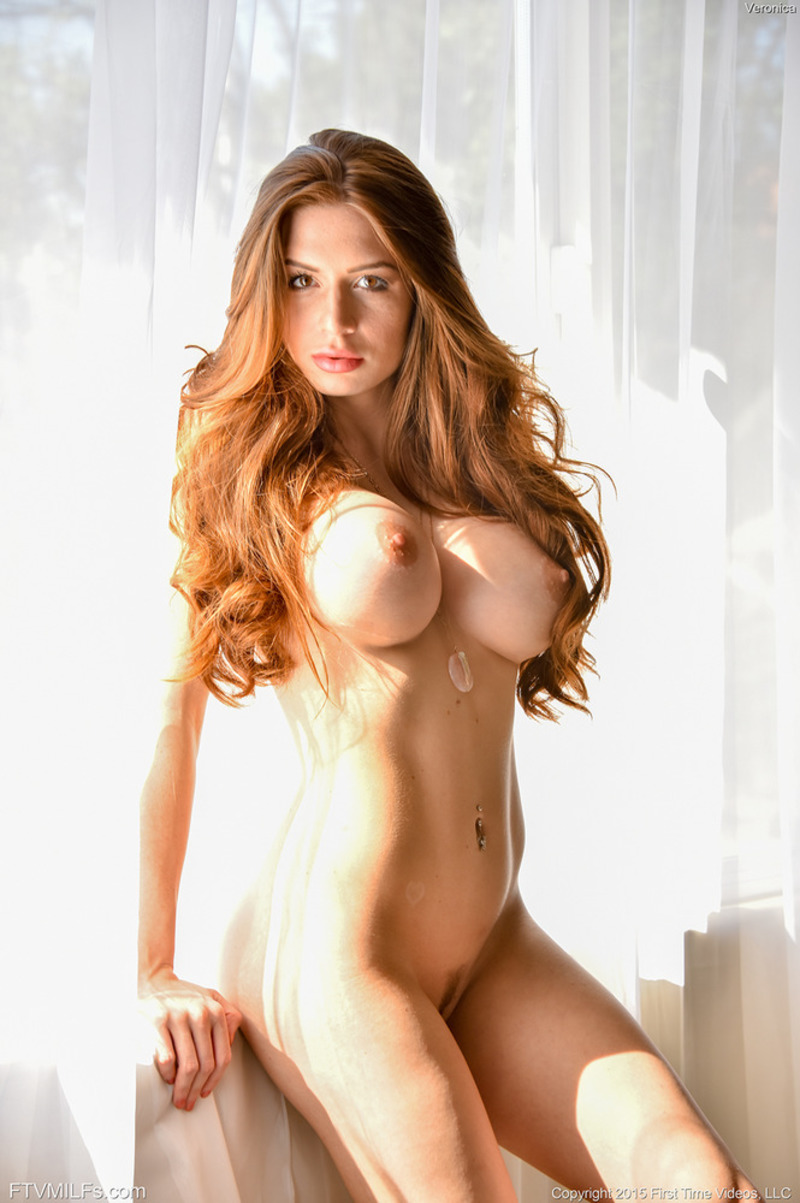 Beautiful redhaired busty