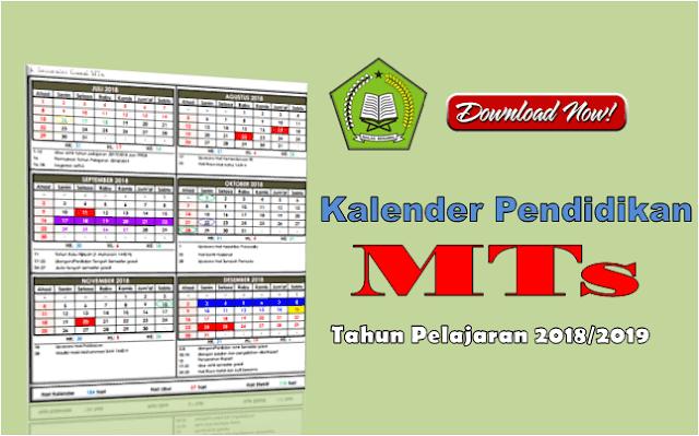 Kaldik Madrasah Tsanawiyah (MTs) Provinsi Jawa Timur Tahun Pelajaran 2018/2019
