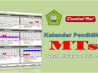 Download Kaldik RA,MI,MTs dan MA Provinsi Jawa Timur Tahun Pelajaran 2018/2019