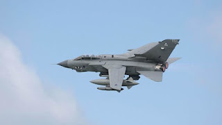 Jet Tempur Inggris Gempur Milisi Rezim Syiah Suriah