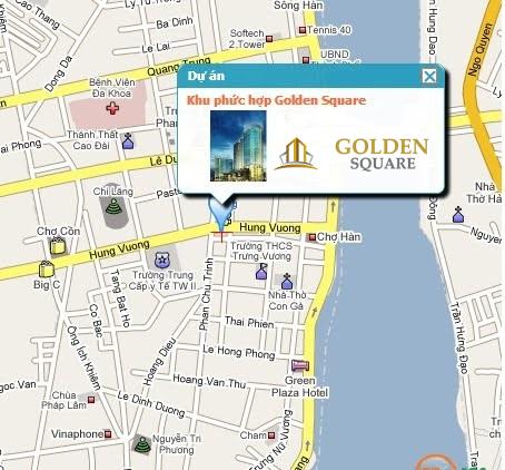 Vị trí chung cư cao cấp Golden Square