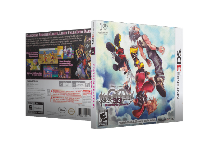 Capa Kingdom Hearts 3D Dream Drop Distance 3DS