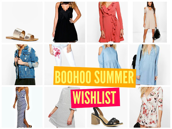 #WISHLISTWEDNESDAY | SUMMER BOOHOO WISHLIST