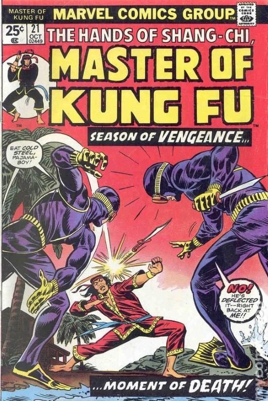 Portada de Master of Kung Fu #21
