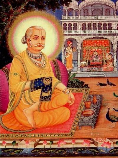 Hindu God image of gusain ji
