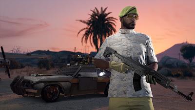 """נחשף עדכון חדש של GTA Online בשם """"Gunrunning"""""""