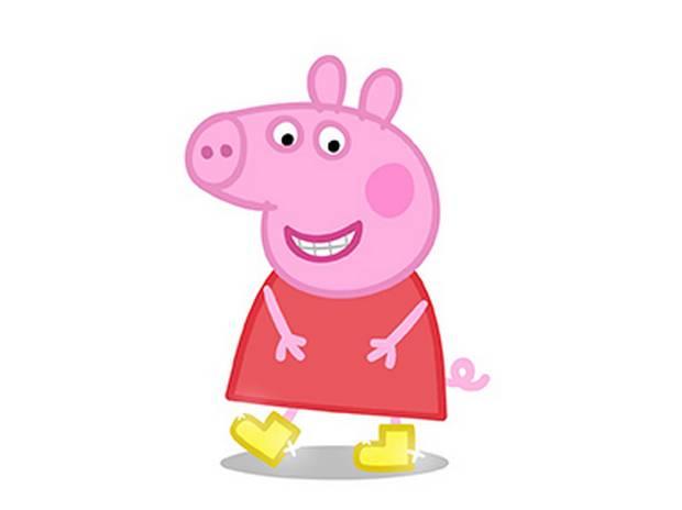 ♥ Dibujos a color ♥: Dibujos Peppa Pig