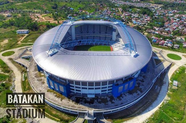 Dinas PU Pastikan Bulan Juli Stadion Batakan Sudah Bisa Digunakan