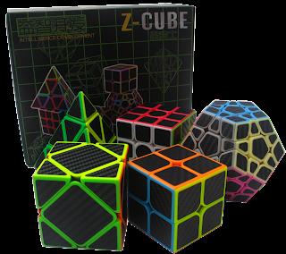 Z cube pack (2x2, 3x3, magaminx,pyraminx,skewb)