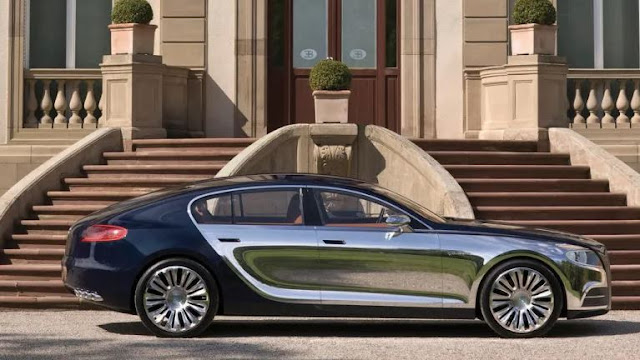 Electric Luxury Sedan Based On the Porsche Taycan