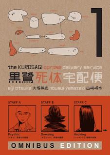 "Reboot para el manga ""Kurosagi Shitai Takuhaibin"" de Eiji Ohtsuka y Hosui Yamazaki"