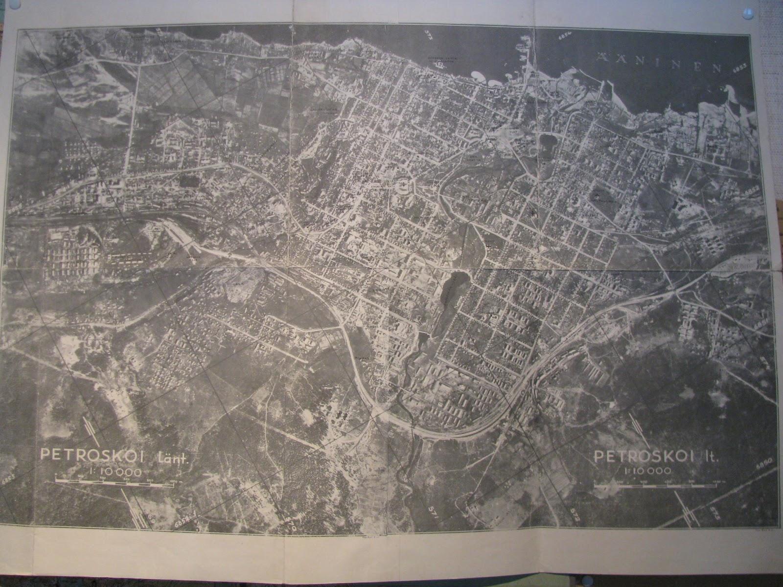 Sotiemme Kartat Petroskoin Valtaus Ik Kartat