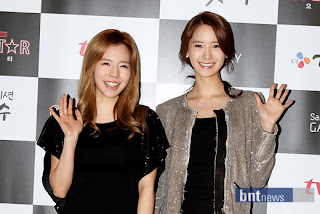 Sunny and Yoona red carpet