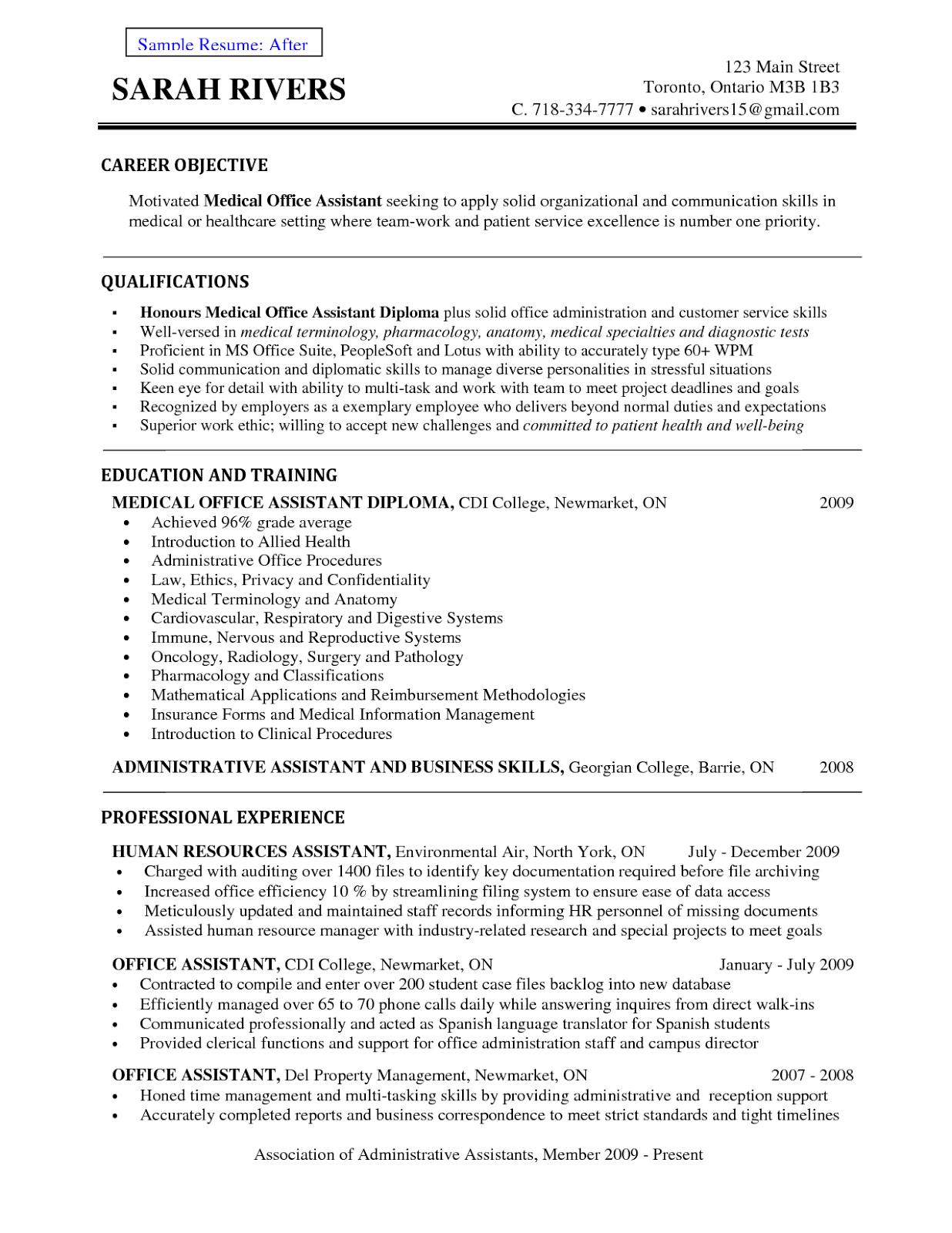 help building resume
