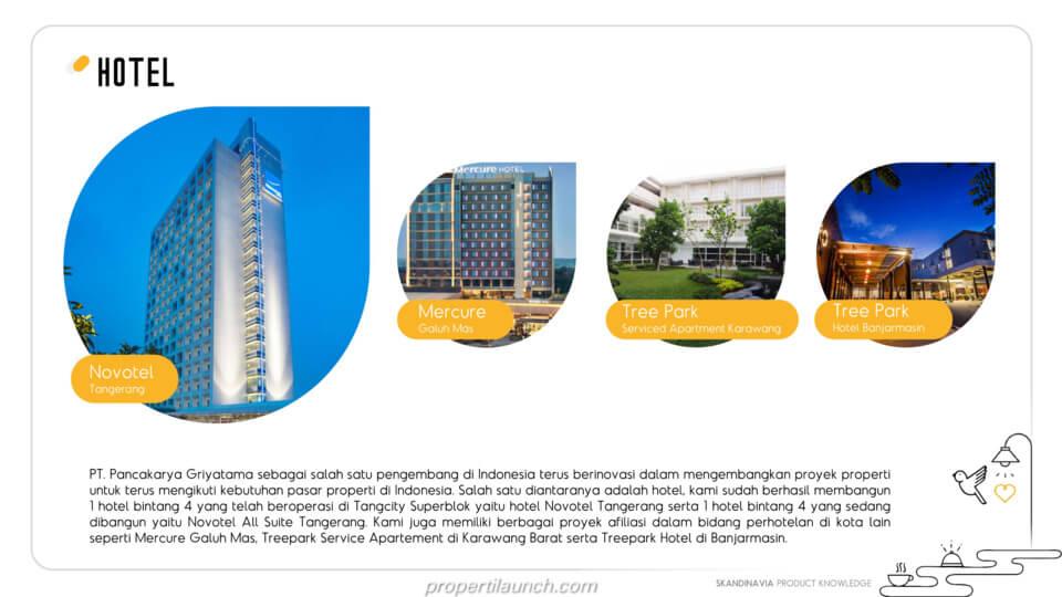Proyek Hotel PT. Pancakarya Griyatama
