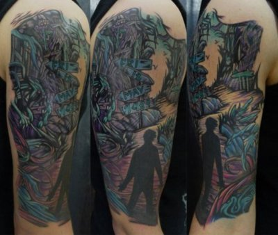 VEbodymods: A Real Fan A Day To Remember Album Cover Tattoo