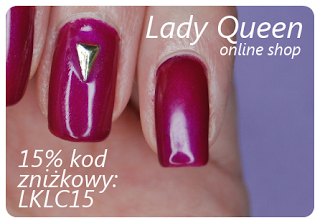 lady queen nail art