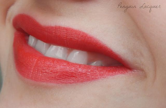 kiko mini divas lipstick 02 swatch