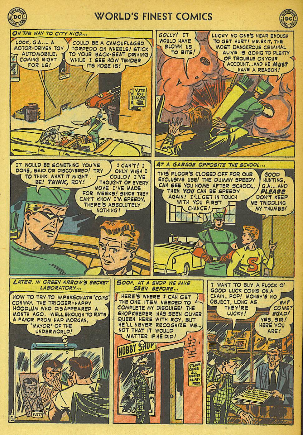 Read online World's Finest Comics comic -  Issue #57 - 21
