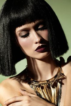 egyptian style hair hairstyles of cleopatra the haircut web 5699 | 485e8e62c5b6cbe6041b12931c029815