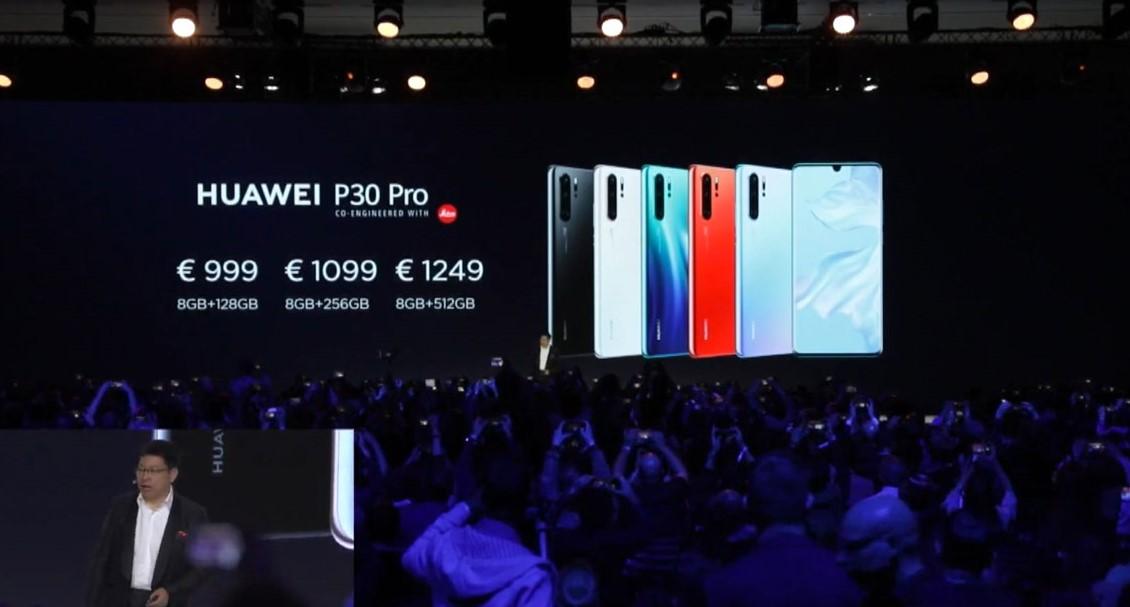 Harga dari 3 Varian Huawei P30 Pro