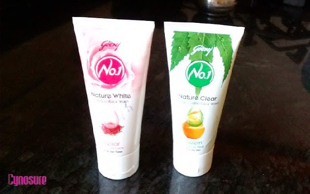 Godrej No.1 Nature White & Nature Clear Face Wash Review