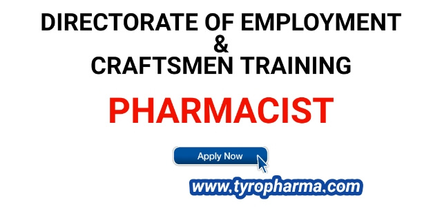 pharmacist-job-in-directorate-of-employment
