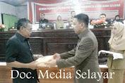 Bupati Serahkan Naskah RPJMD Dan 2 Ranperda Dalam Rapat Paripurna DPRD Kab.Kep.Selayar
