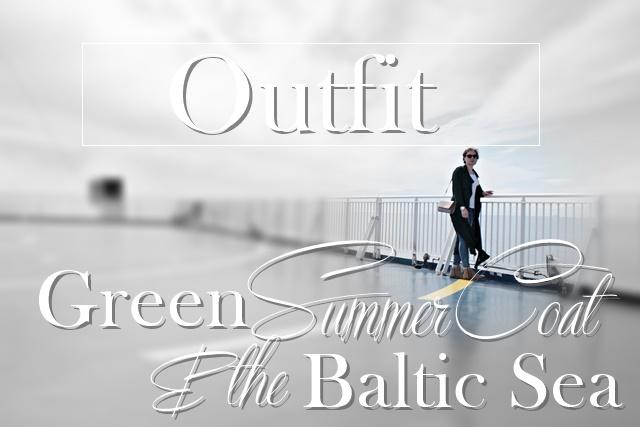 Green SummerCoat &the Baltic Sea - www.josieslittlewonderland.de - outfit post