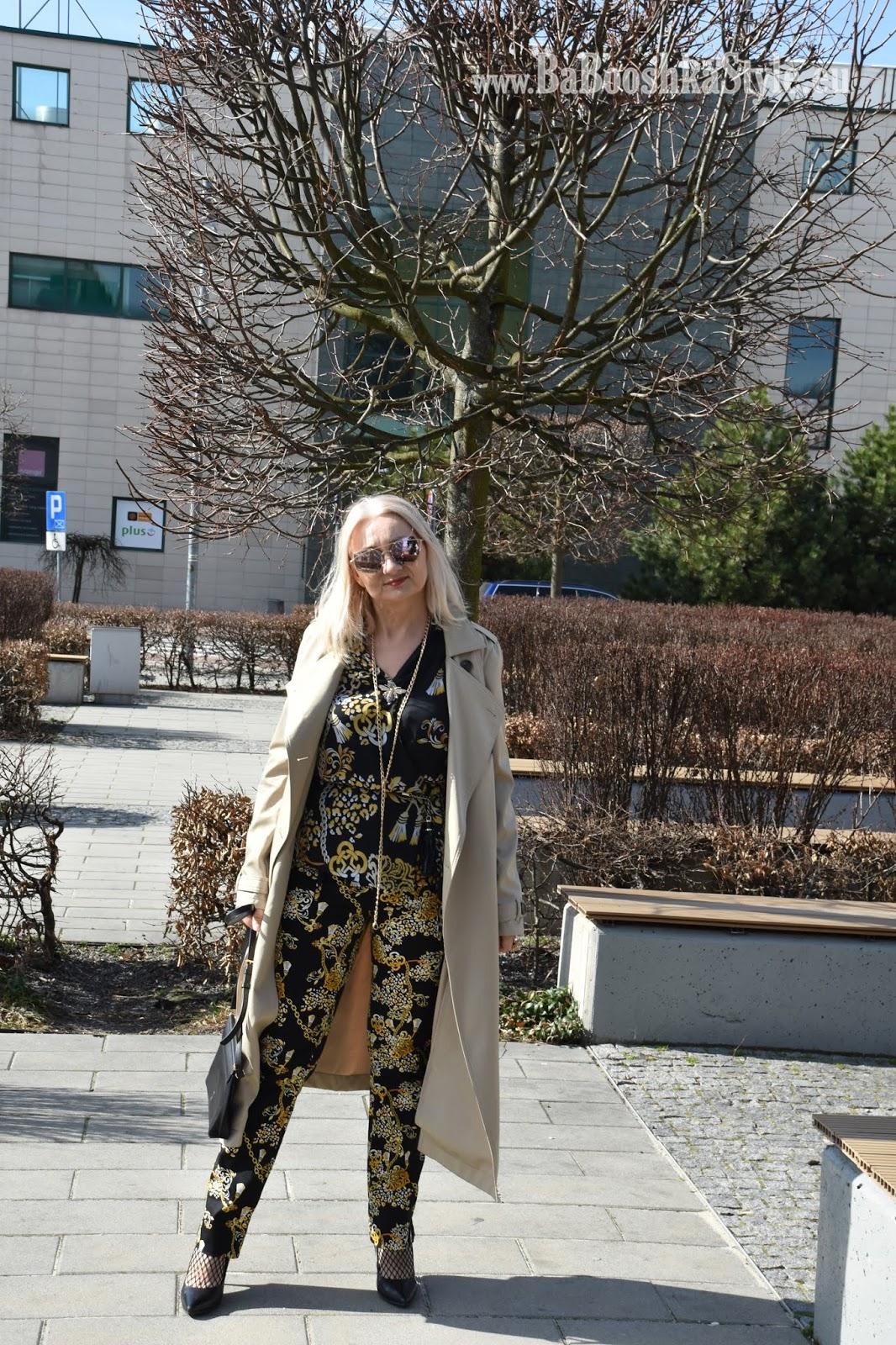 Babooshkastyle, Stylistka, Bonprix, włoska moda, Versace, włoski styl, over50plus, fahsionblogger, fashionstyle, Bonpirx, polecam