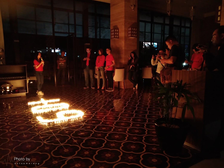 Seperti Apa Kegiatan Earth Hour 2019 di Hotel GranDhika Semarang?